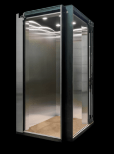 Non pitless home elevator