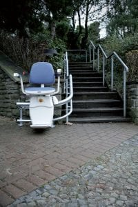 outdoor curved stair lift pricing