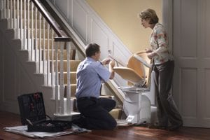 How do stair lifts work