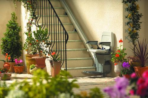 Spring time Stair lift