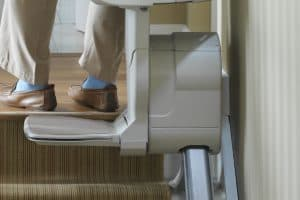 Stair Lift san francisco close up