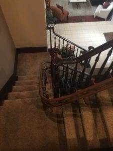 Curved Stair Lift Rail Las Vegas