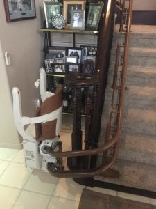 Siena Curved Stair Lift Las Vegas