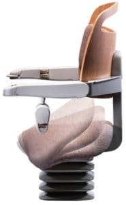 Stannah Stairlifts Sadler saddle-style stairlift